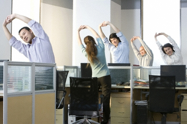 Fun Ways to Keep Fit in Your Office
