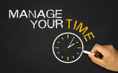 Managing Your Time Wisely!
