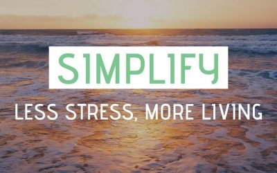 Simply Your Life To Reduce Stress!
