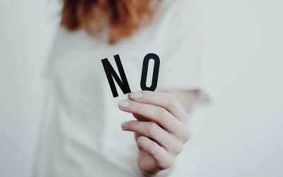 Time to Say Your No's – Set Healthy Boundaries!